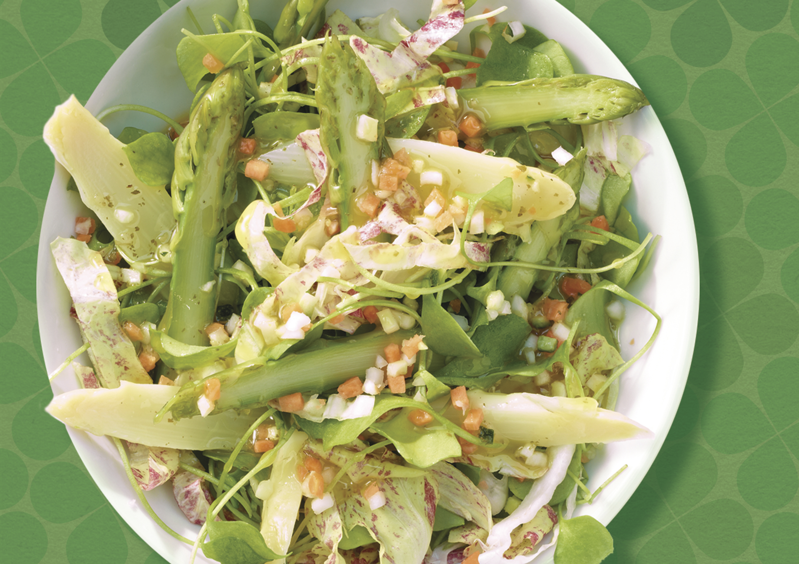 Wellness pur: SalatKartoffel