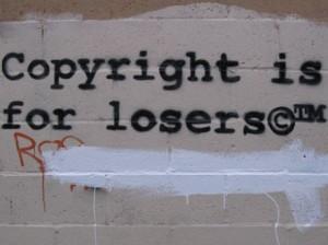 Urheberrecht ist kein Spaß.