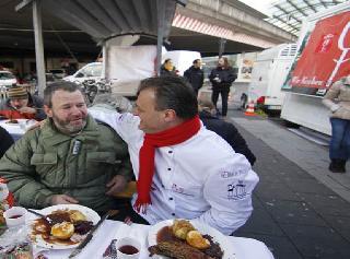 Absolut nachahmenswert: Kochen für Obdachlose