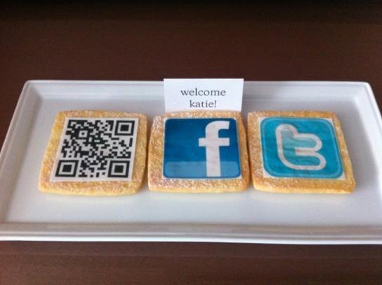 QR-Kekse: Botschafter für Eigenwerbung