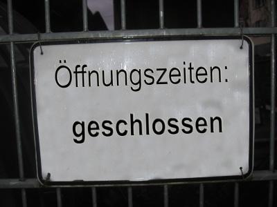 Existenzvernichtend: Die Betriebsschliessung.