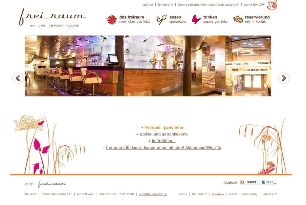 Eine erfolgreiche Restaurant-Homepage