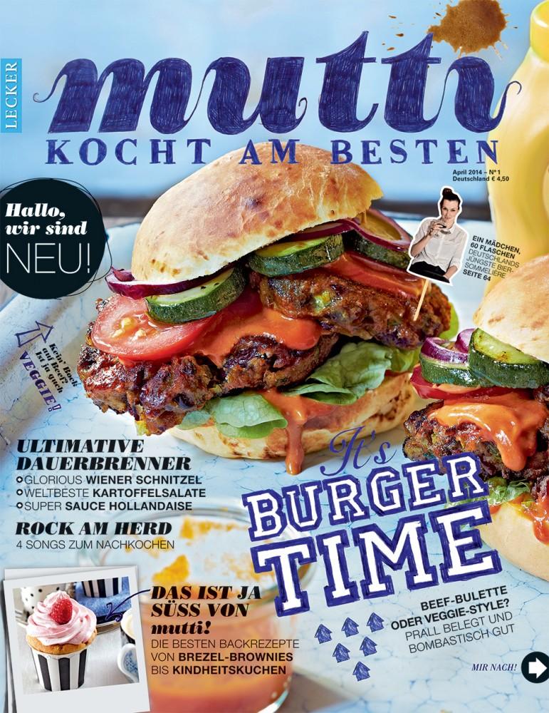 Mutti kocht am besten – Bauer launcht neues Food-Magazin