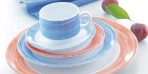 Arcoroc - hochwertiges Systemgeschirr aus Opalglas