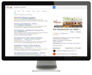 Seepferdchen - Google - Gastronomie-Journal