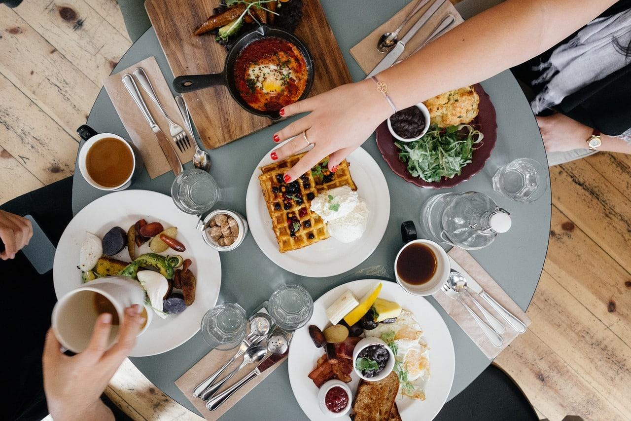 Umsatz steigern Speisekarte ohne Komma