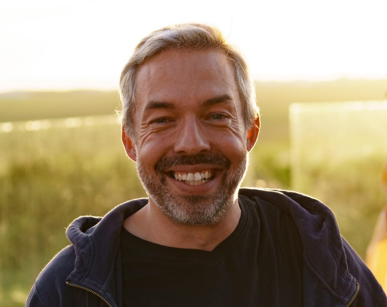 Heiko Viereck von LichtBlick steht fürSaubere Energie