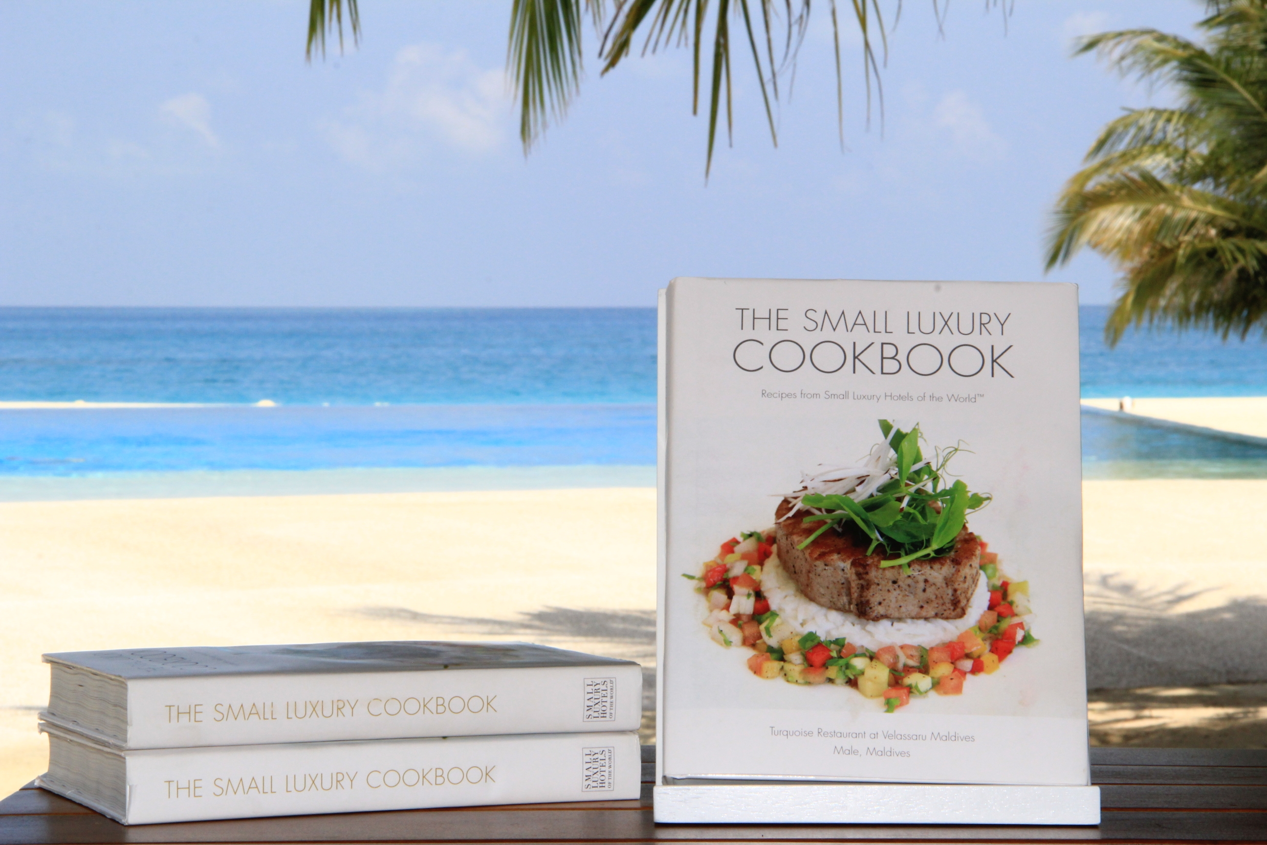 Small Luxury Cookbook - Velassaru-Maldives-Resortausgabe