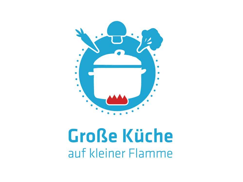 Green Chefs unterstützen Kampagne Kampagne Große Küche auf kleiner Flamme