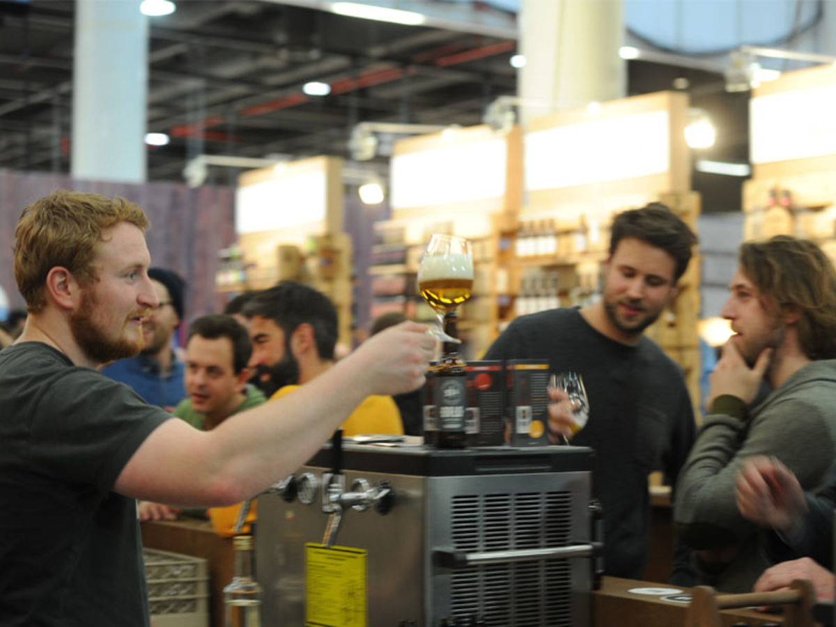 Internorga 2017 - größere Craft Beer Arena
