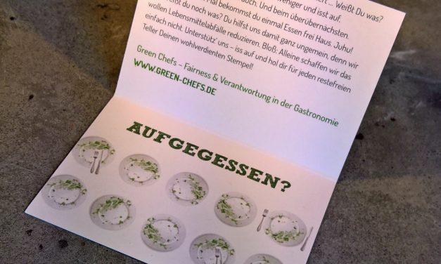 Bei den Green Chefs gibt's eine Belohnung für leere Teller