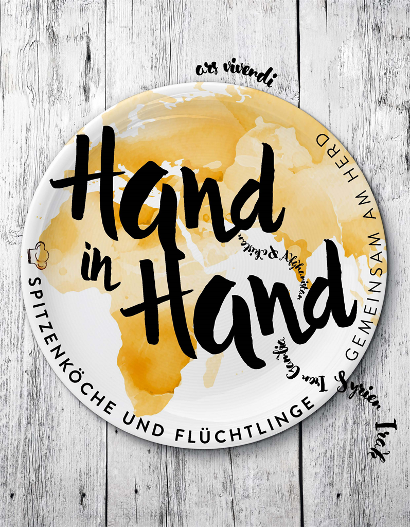 Kochbuch Hand in Hand unterstützt Flüchtlingsprojekte