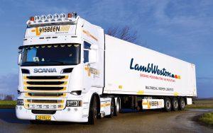 Lamb Weston - Die Reise der Kartoffeln -  Transport