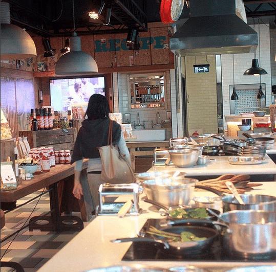 Hybridfood gibt auch in den neuen Concept-Stores (c) lionlisalibrary / Instagram