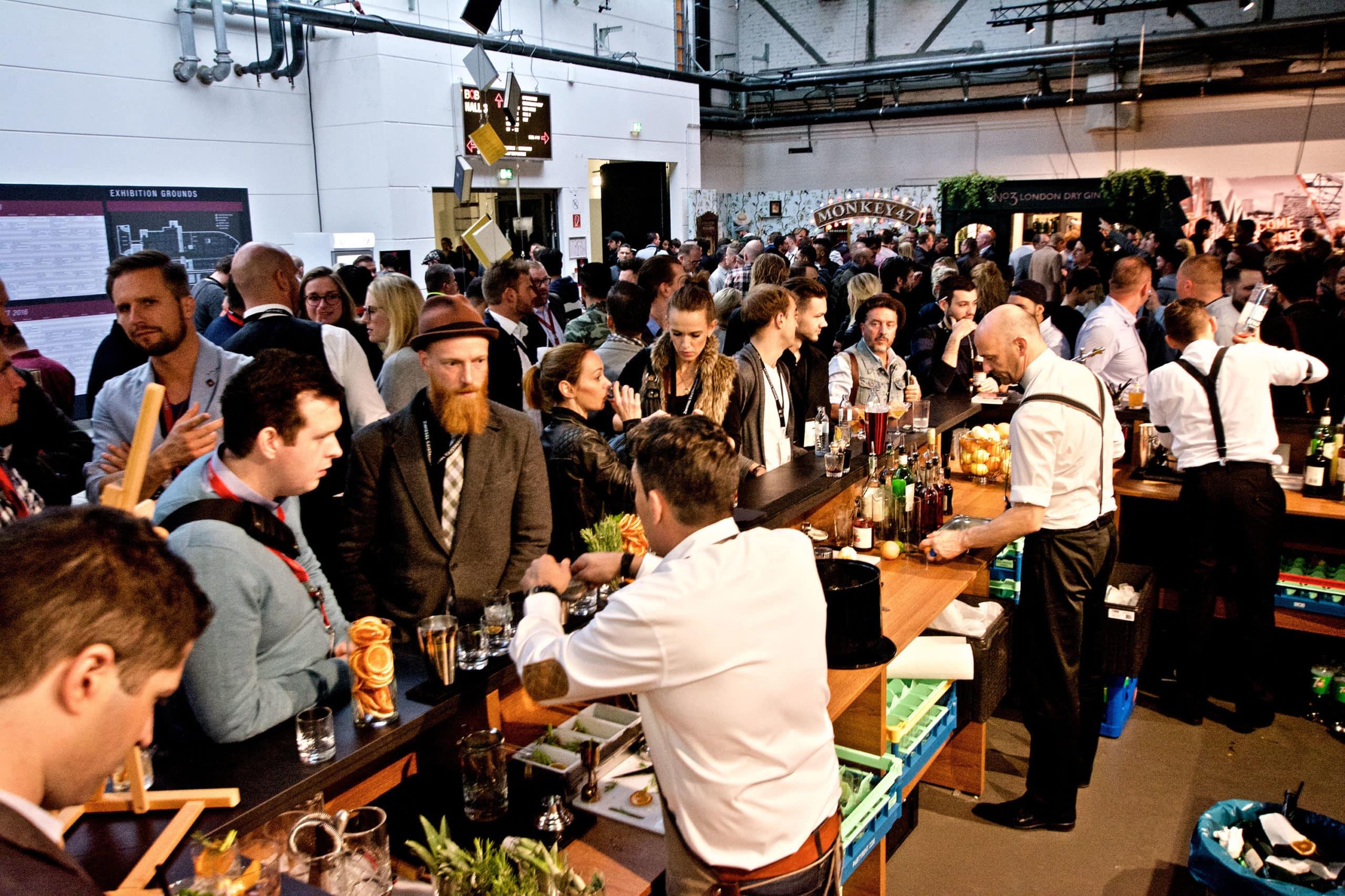 10 jähriges Jubiläum des Bar Convent Berlin (c) Bar Convent Berlin 2016 / Gili Shani