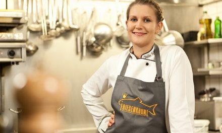 Julia Komp ist jüngste Sterneköchin