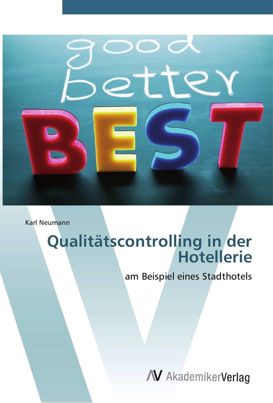 Qualitätscontrolling in der Hotellerie (c) AV Akademikerverlag