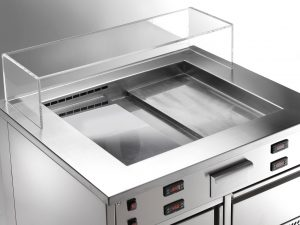 Twin Tepp von Saro Gastro-Products - Der Küchen-Hybrid mit Show-Effekt