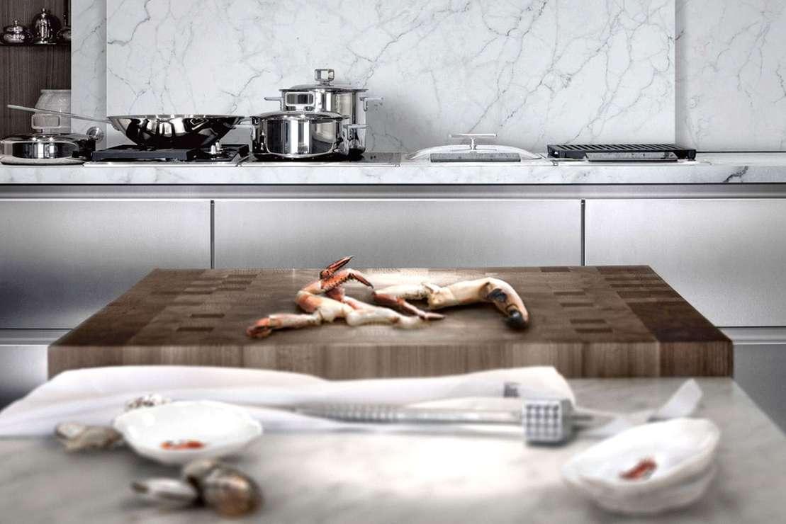 Marmor - Trends für die Profi-Küche 2017