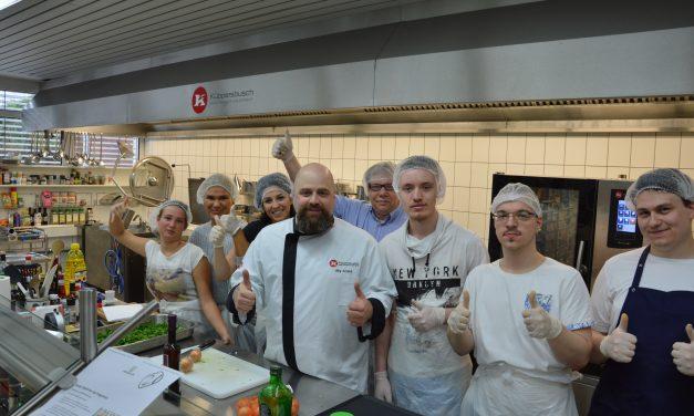 Küppersbusch zeigt Joblingen neue Berufsmöglichkeiten auf