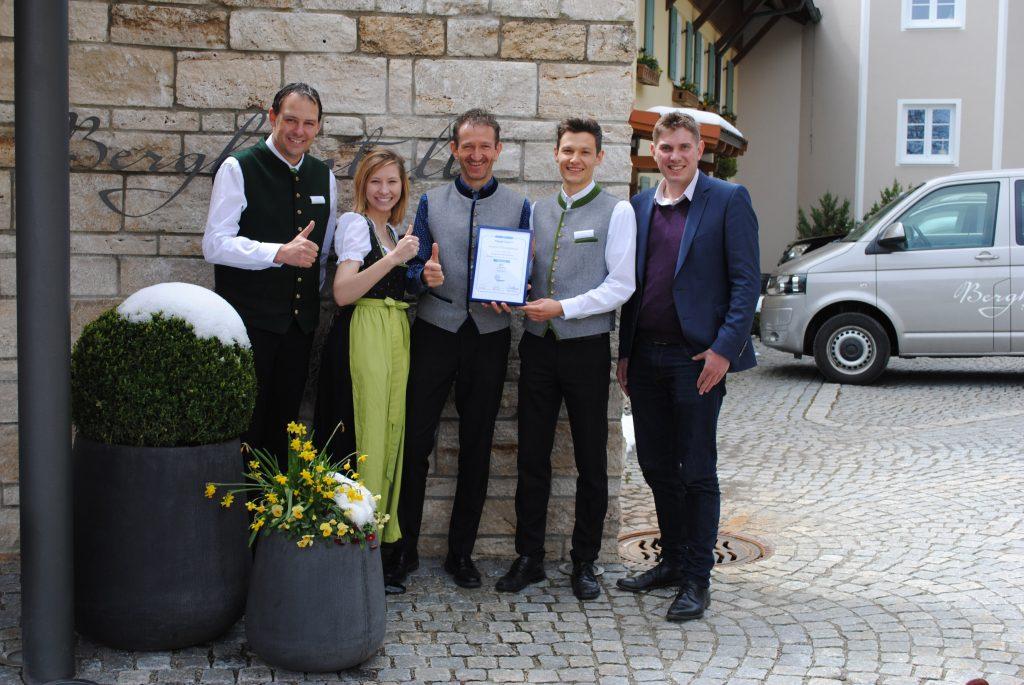 Top 30 Hotels mit Award of Excellence ausgezeichnet - Platz 9 belegt das Bergkristall Natur und Spa in Oberstaufen