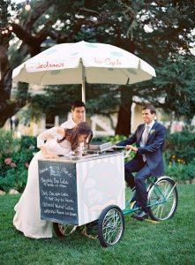 Ice Cream Wagen - Food Trucks zur Hochzeit