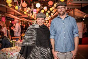 Veranstalter des Food Zurich Festivals Veranstalter Alexandra Heitzer und Simon Mouttet