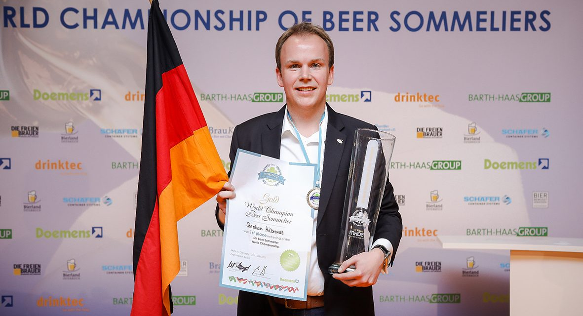 Stephan Hilbrandt ist neuer Weltmeister der Sommeliers für Bier