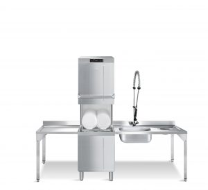 HTY520DH - Neue Smeg Haubenspülmaschine spart Wasser und Energie