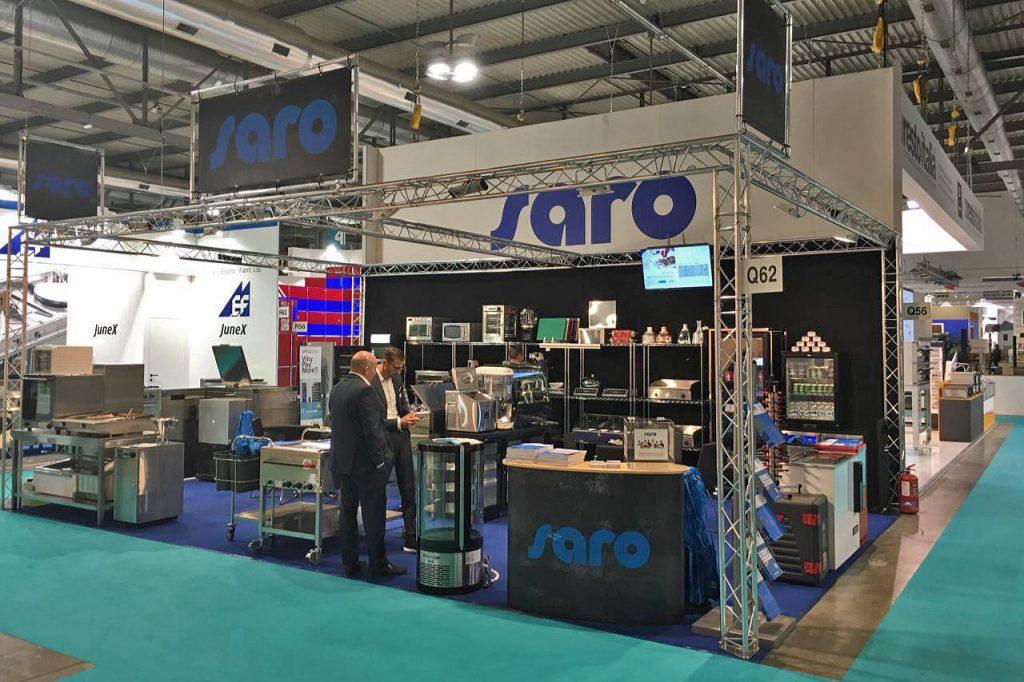 Saro Gastro Products auf der Intergastra - Premiere zum Jahresstart