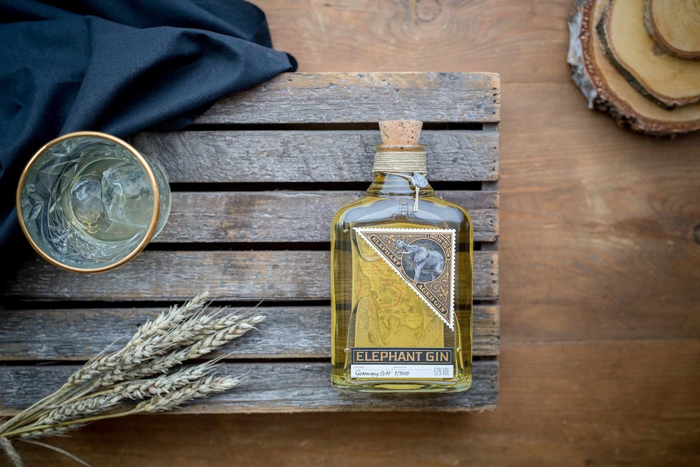 Älter und Reifer - Der Elephant Aged Gin