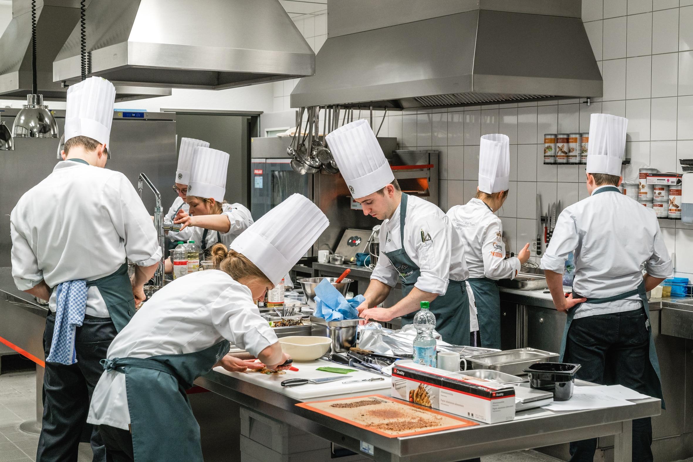 Köche-Nationalteams bereiten sich auf Koch-WM vor - (Fotocredit Gregor Ott)