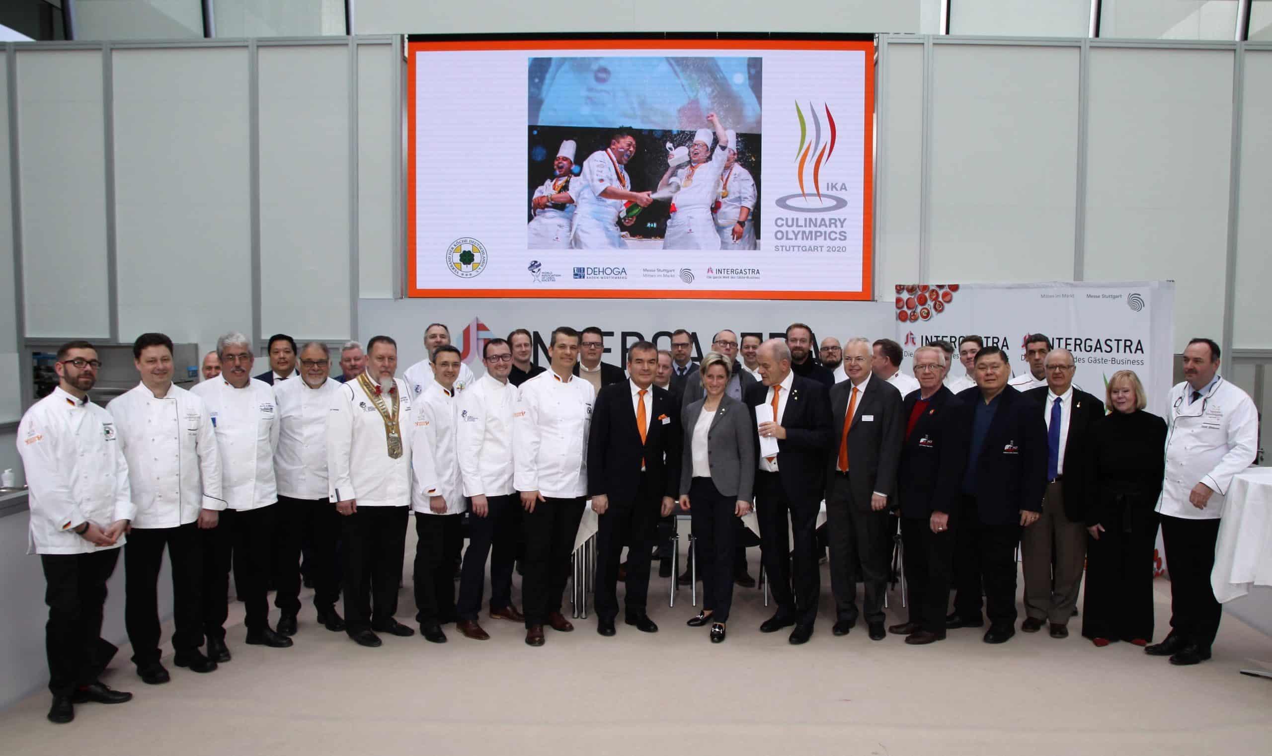 Olympiade der Köche 2020 - Chef's Table statt Plattenschau