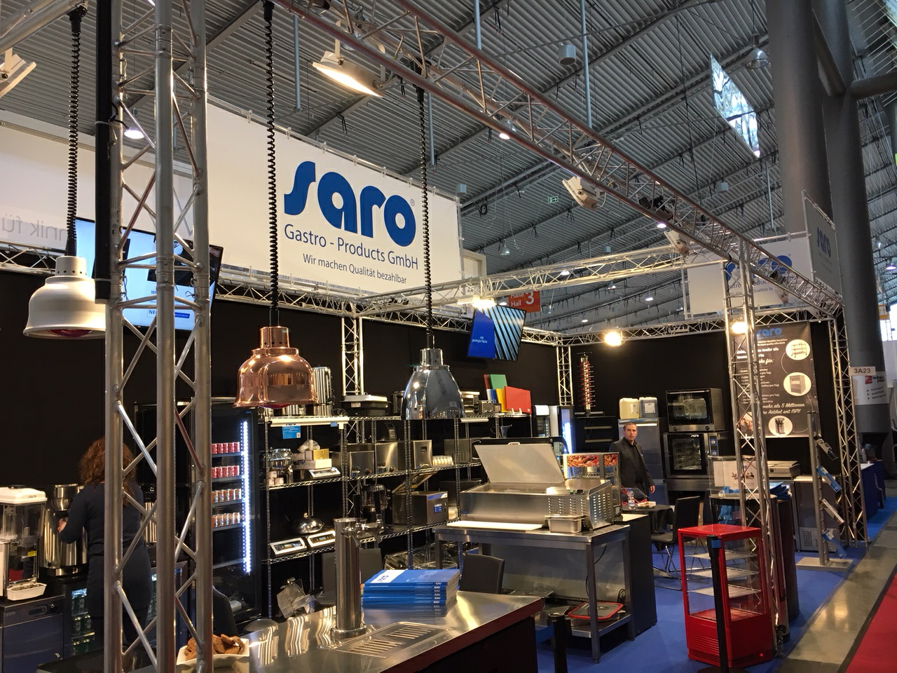 Saro Gastro Products - Intergastra-Premiere war ein voller Erfolg