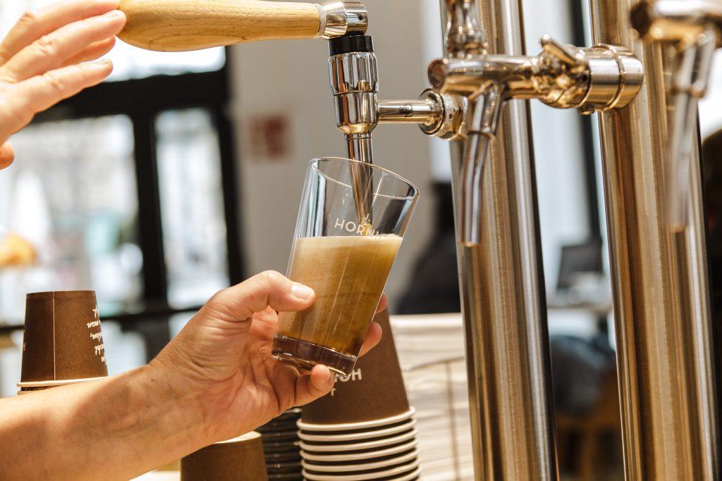 Kaffee aus der Zapfanlage