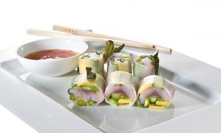 Sommermatjes von Friesenkrone im Sushi-Style