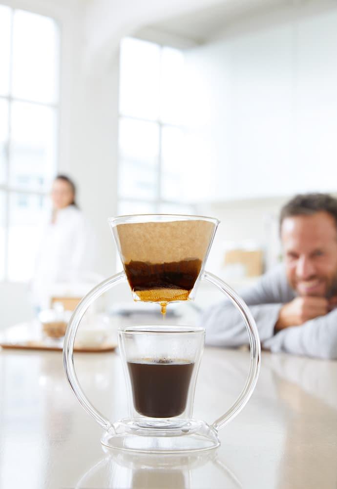 Leonardo Proline - Mit dem Duo-Filtersystem Kaffee neu inszenieren