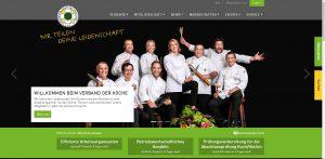 Neuer Web-Auftritt für Verband der Köche Deutschlands e. V.