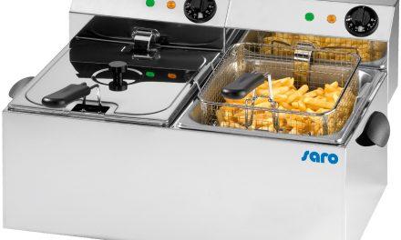 Elektrofritteusenvon Saro Gastro-Products:Goldrichtig in der Großverpflegung