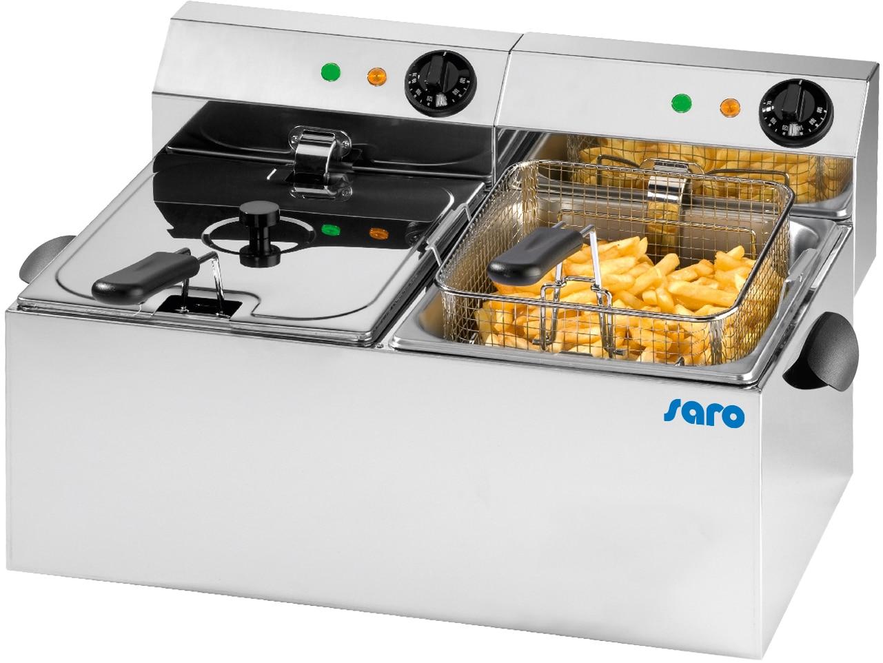 Elektrofritteusen von Saro Gastro-Products - Goldrichtig in der Großverpflegung