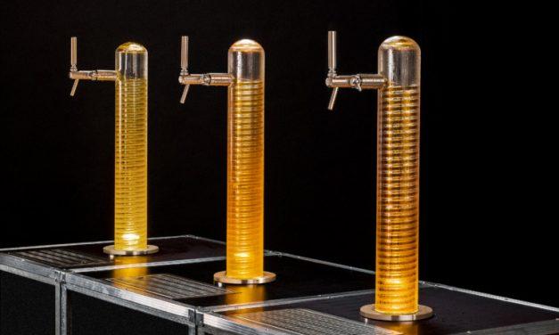 TAPTUBE – die Bierskulptur aus Glas