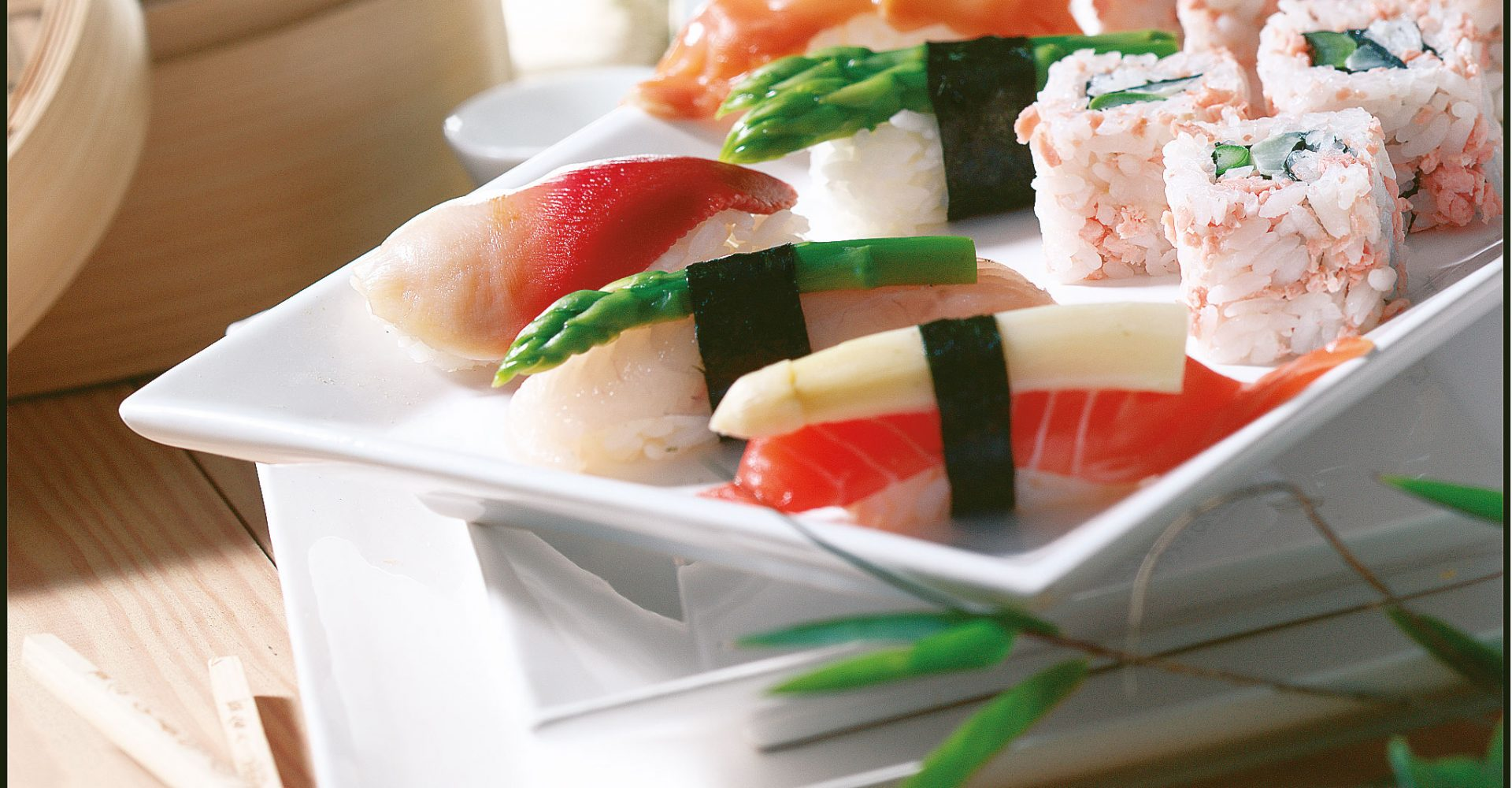 Superfood - Spargel trifft Sushi