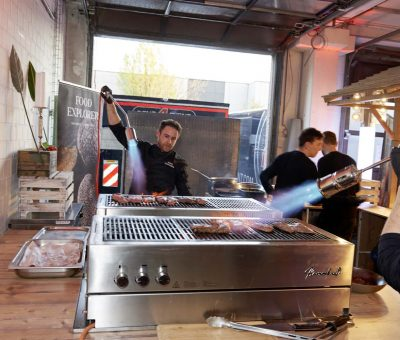 Rent4Event - 220 Gäste auf kulinarischer Weltreise
