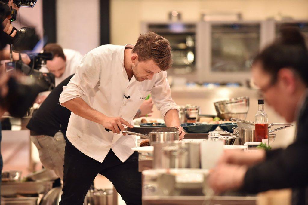 Top Chef Germany mit Unterstützung von Friedr Dick@ SAT1 Andre Kowalski