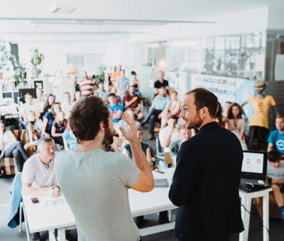 Startup-Area auf der Alles für den Gast