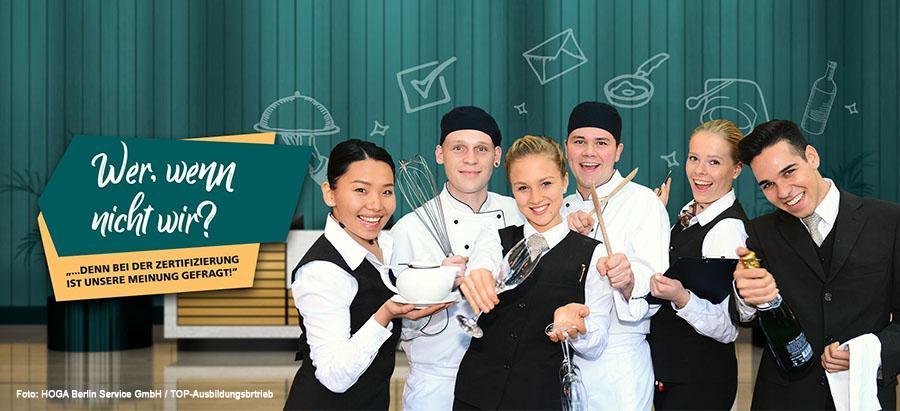 Top Ausbildungsbetrieb: Neues Gütesiegel der DEHOGA