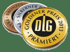 DLG Medaillen für Frisch &  Frost Produkte