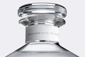 Air Co. - Vodka aus Luft, Sonne und Wasser - Hals