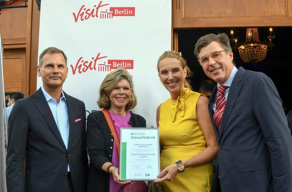 FLORIS Catering erhält Gold Zertifikat - Bild: Sabeth Stickforth