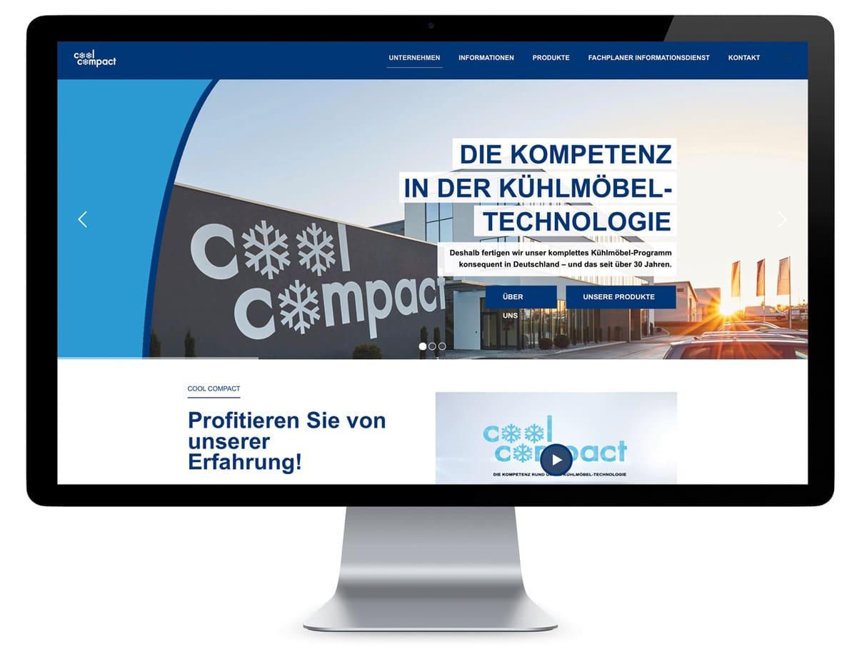 Relaunch der Website von Cool Compact